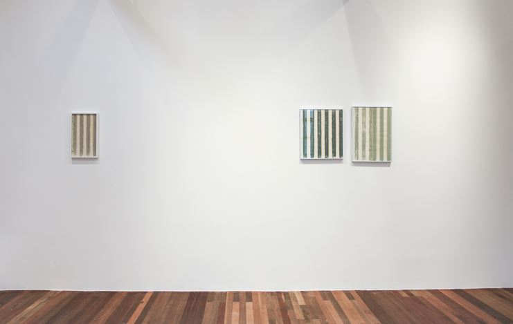 Exhbition view: Bob Kil,Suyoung Kim,Nikki S. Lee,Seung Yul Oh, ONE AND J. Gallery at Condo Shanghai 2019, atGallery Vacancy (13 July–24 August 2019). Courtesy Gallery Vacancy.