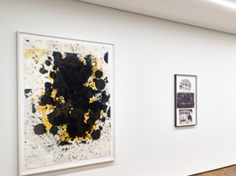Inigo Philbrick is showing 'Paintings on Paper' by Christopher Wool and Mike Kelley