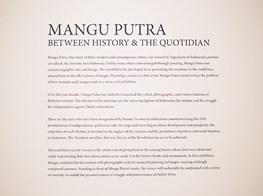 "Mangu Putra<br><em>Between History and the Quotidian</em><br><span class=""oc-gallery"">Gajah Gallery</span>"
