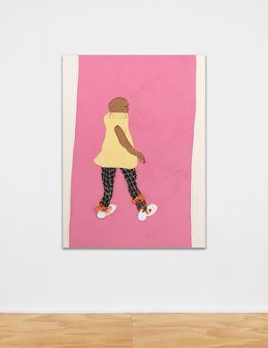 Lil Mama 2 by Tschabalala Self contemporary artwork