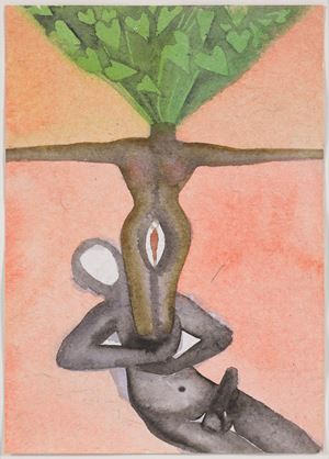 A Story Well Told VII by Francesco Clemente contemporary artwork