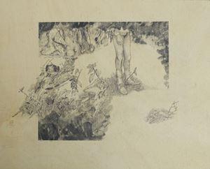 Garden of carnal delights by Moses Tan contemporary artwork