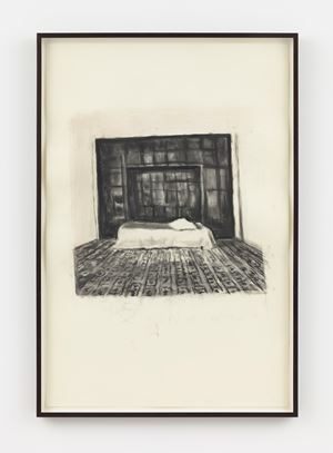 Malaparte by Luc Tuymans contemporary artwork