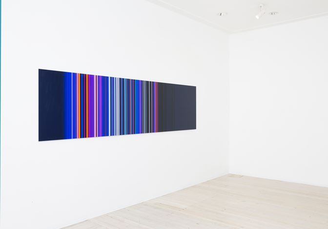 Exhibition view: Paul Snell, Chromophilia, Gallery 9, Sydney (17 May–10 June 2017). Courtesy Gallery 9.