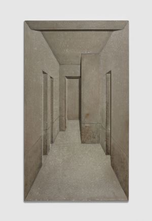 Unfinished Home 190601 by Cai Lei contemporary artwork