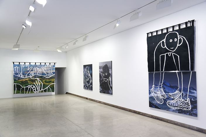Exhibition view: Abdul Abdullah, Contested Territories, Yavuz Gallery, Sydney (15 September–27 October 2019). Courtesy Yavuz Gallery.