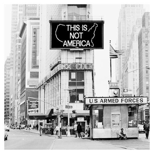 A Logo for America by Alfredo Jaar contemporary artwork