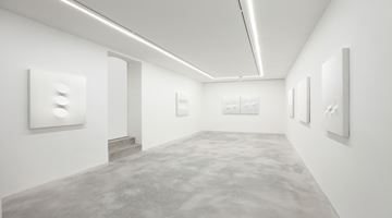 Contemporary art exhibition, Turi Simeti, White Paintings at Dep Art Gallery, Milan