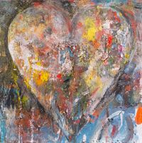 Full of his dreams by Jim Dine contemporary artwork painting