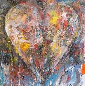 Full of his dreams by Jim Dine contemporary artwork