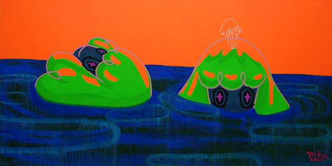 TUBIG LAGPAS ULO by Yeo Kaa contemporary artwork