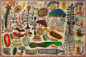 Landscape by Yunizar contemporary artwork