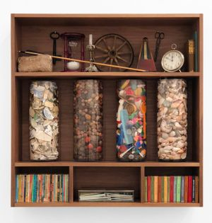 Theatrum Mundi (Cosmological Cabinet) by Mark Dion contemporary artwork sculpture