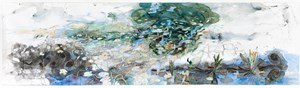 The life of inland waters - Durabudboi river by John Wolseley contemporary artwork