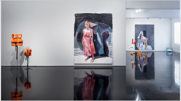 Contemporary art exhibition, Ben Quilty, The Stain at Tolarno Galleries, Melbourne