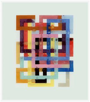 Mai 14 by Bernard Frize contemporary artwork