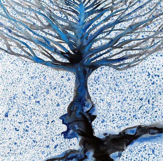 The Canopy Man by Barthélémy Toguo contemporary artwork