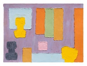 Untitled by Jonathan Lasker contemporary artwork painting, works on paper