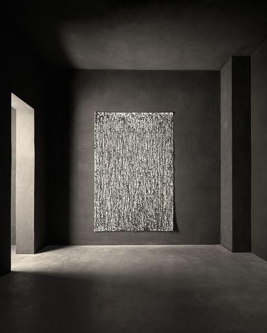 Regen (14) by Günther Uecker contemporary artwork