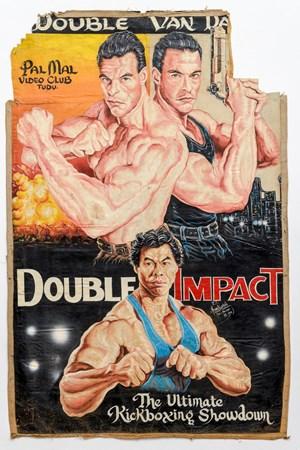 Double Impact by Dan Nyenkumah contemporary artwork