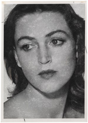 PORTRAIT OF A WOMAN by Man Ray contemporary artwork