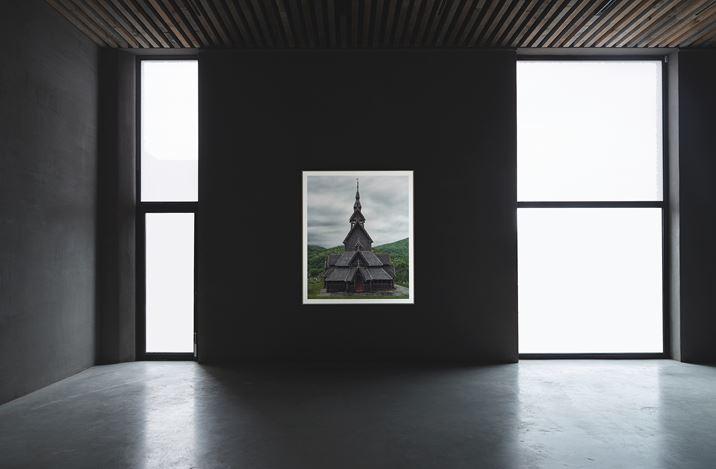 Exhibition view: Markus Brunetti, Romanesque FACADES, Axel Vervoordt Gallery, Antwerp (5 September–23 November 2019). Courtesy the artist and Axel Vervoordt Gallery.