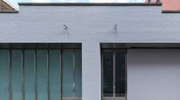Gagosian contemporary art gallery in 541 West 24th Street, New York, USA