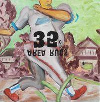 Swing study 4 by Hiroya Kurata contemporary artwork painting