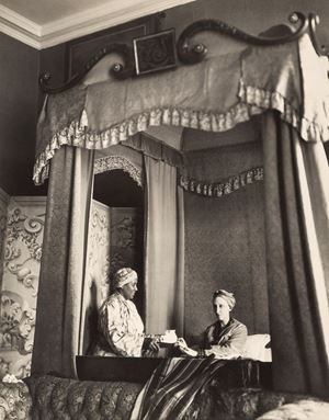 Dame Edith Sitwell At Tea by Cecil Beaton contemporary artwork