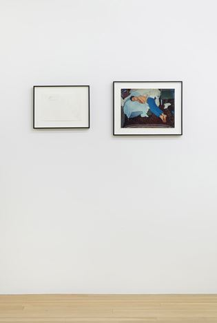 Exhibition view: Group Exhibiton,In Part: Writings by Julie Ault, Galerie Buchholz, New York (9 February–24 February 2018). Courtesy Galerie Buchholz.