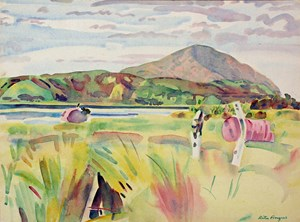 Mt Camel (Northland) by Rita Angus contemporary artwork