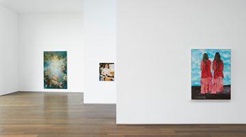 Contemporary art exhibition, Group Exhibition, María Berrío, Caroline Walker, Flora Yukhnovich at Victoria Miro, Wharf Road, London