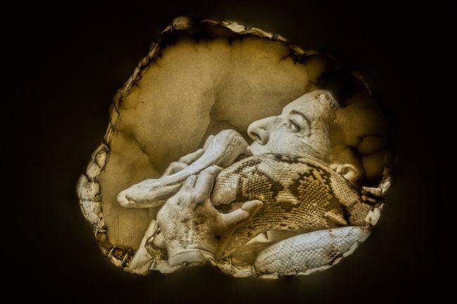 Seven Deaths: The Snake by Marina Abramović contemporary artwork
