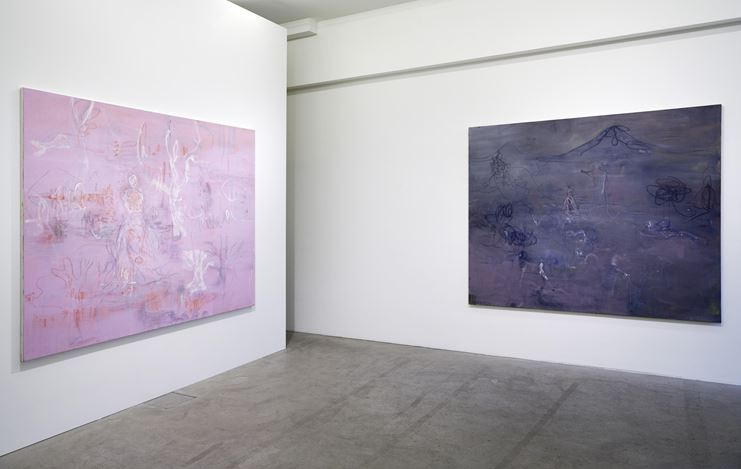 Exhibition view: Rebekka Steiger, wild is the wind, Galerie Urs Meile, Lucerne (14 February–30 March 2019). Courtesy Galerie Urs Meile.