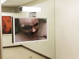 Jenny Holzer & Mapplethorpe works go on show in a hospital