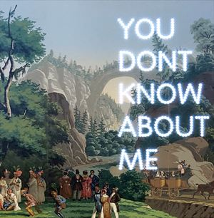 You Don't Know About Me by Nathan Coley contemporary artwork