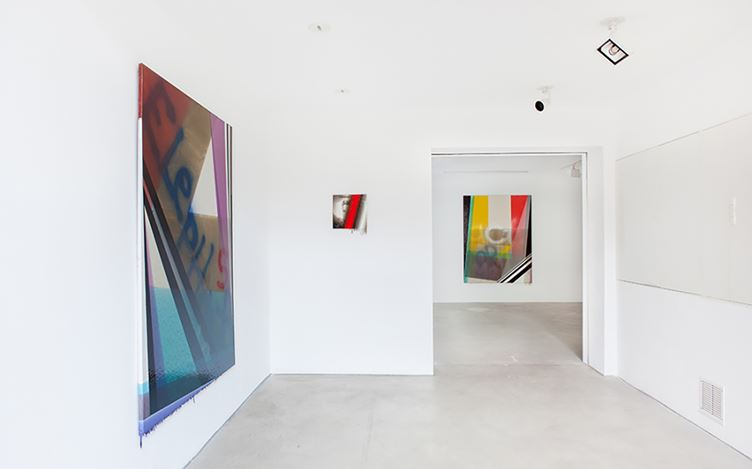 Exhibition view: Shane Bradford,Kim Young-Hun, The Middle Distance, CHOI&LAGER Gallery, Cologne (29 October–22 December 2016). Courtesy CHOI&LAGER Gallery.