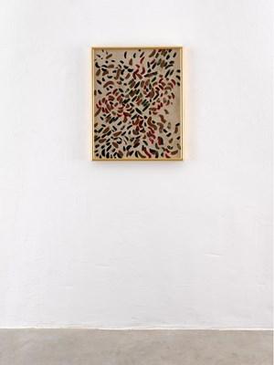 Bat Seba, Glitter, Portrait by Elisabeth Frieberg contemporary artwork