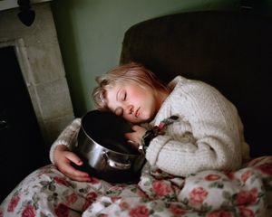 Sleeping Chillie by Siân Davey contemporary artwork photography