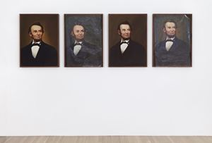Lincoln by Lutz Bacher contemporary artwork