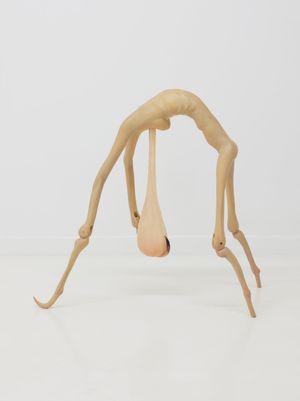 Hesitation by Liao Wen contemporary artwork sculpture