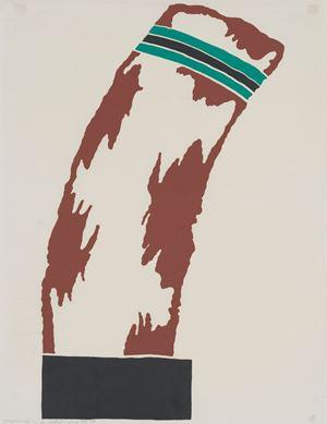 Composition No. 58 by Ion Bitzan contemporary artwork