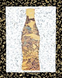 Landscape Cola by Xue Song contemporary artwork mixed media