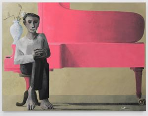 Silence I by Lenz Geerk contemporary artwork