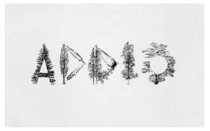 Goodbye Trees by Mirella Bentivoglio contemporary artwork