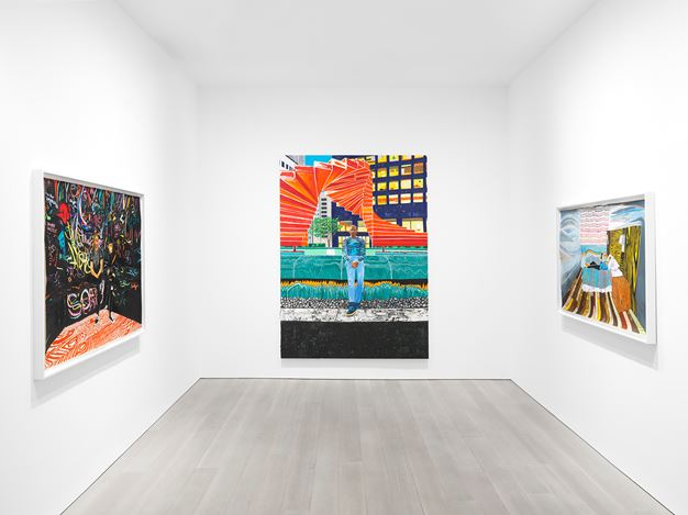 Exhibition view: Raffi Kalenderian, Miles McEnery Gallery, 525 West 22nd Street, New York (19 November–19 December 2020). Courtesy Miles McEnery Gallery.
