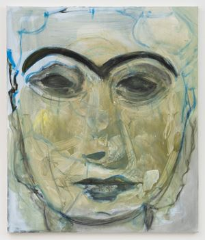 Lady of Uruk by Marlene Dumas contemporary artwork