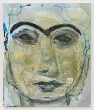 Lady of Uruk by Marlene Dumas contemporary artwork painting, works on paper