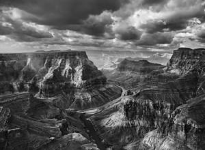 The Confluence of the Colorado and the Little Colorado, Arizona, USA by Sebastião Salgado contemporary artwork