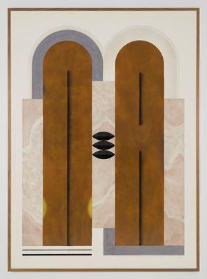 Diseño para un cuerpo voluptuoso (8) by Elena Alonso contemporary artwork